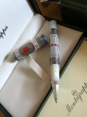 Montegrappa White Nights Rollerball Limited Edition