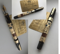 Ручка Montegrappa Human Civilisation Gold